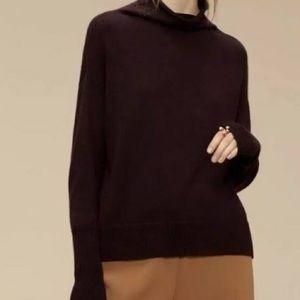 Wilfred Cyprie Merino Wool Mock Neck Sweater